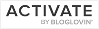 bloglovin activate badge